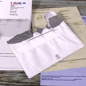 paper letters 3ds