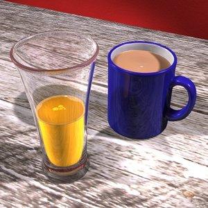 3ds max tea juice