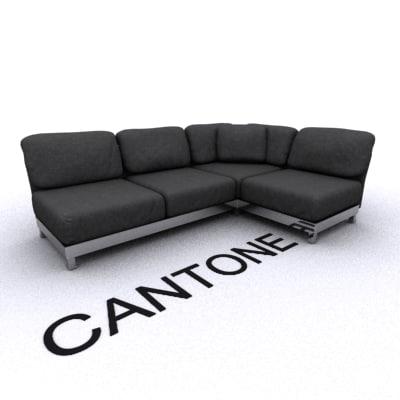 3d unique sofa