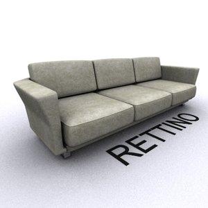 unique sofa 3d model