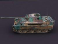 3d german tank panther