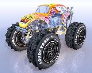 maya monster truck beetle