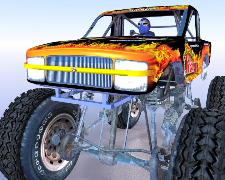 monster truck reaper max