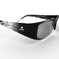 sun glasses amichi 3d model