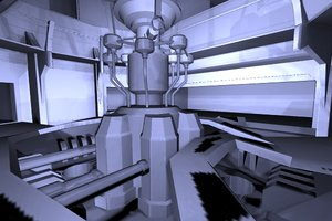 3ds max science fiction level