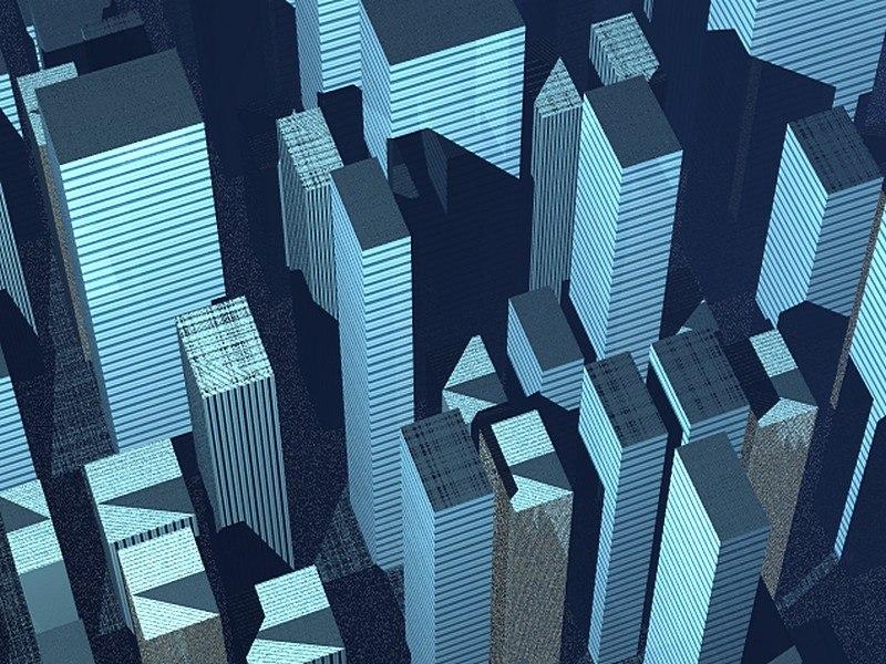 3ds max metropolitan city