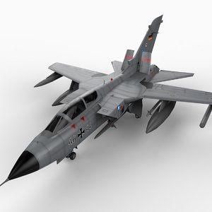 3d panavia tornado ecr fighters model