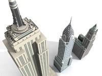 3 Newyork skyscrapers