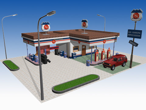 cinema4d service station