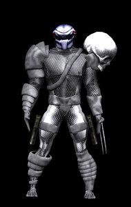 3d predator model