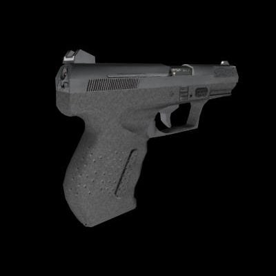 walther p99 3d model