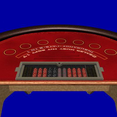jack table black 3d lwo
