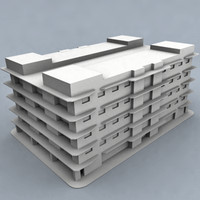 3ds max housing flat