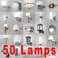 50 Wall lamps.zip