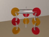 3ds max acrylic coffee table