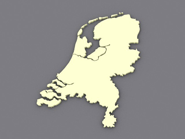 3d netherlands spline