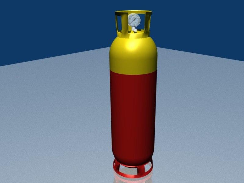 gaz-bottle 3d 3ds