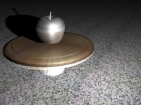seven wooden apples dxf
