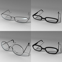 glasses set 3ds.zip