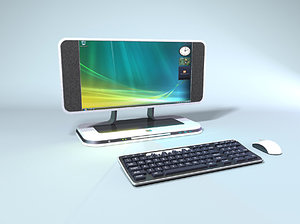 pc design keyboard versions 3d ma