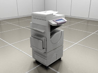 3d model copy machine scanner
