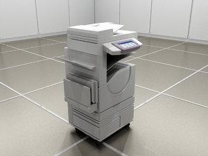 3d model copy machine scanner