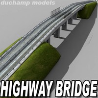 3d highway bridge