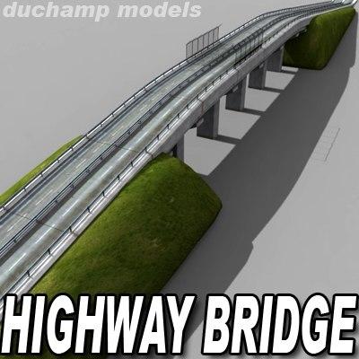 3d highway bridge