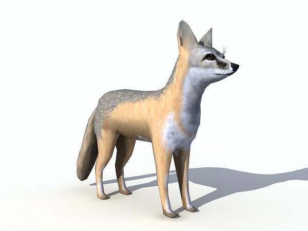 3d model swift fox