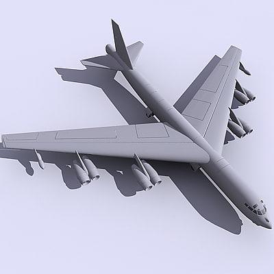 b52 bomber 3d 3ds