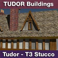 t3 - tudor style 3d c4d