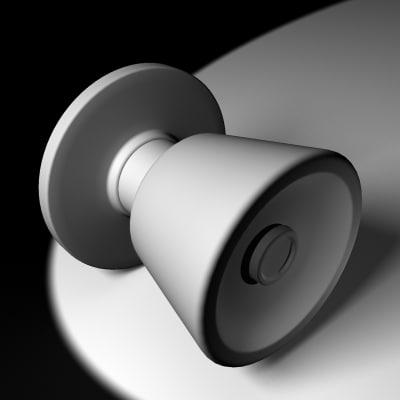 maya doorknob knob