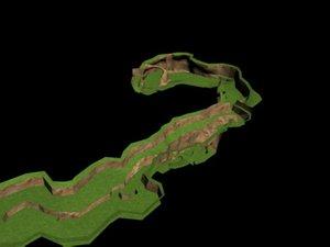3ds terrain