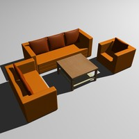max sofa armchair table