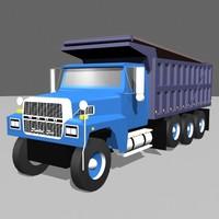 dumptruck roadway construction max
