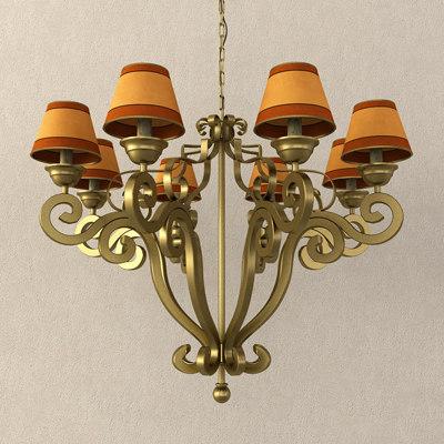 3d model lamp chandelier