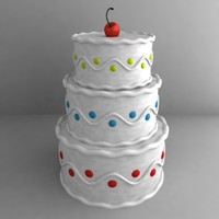 3d cake wedding