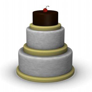 3ds max cake