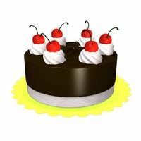 3dsmax cake
