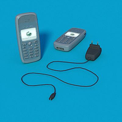 3d sony ericson t300 mobile phone