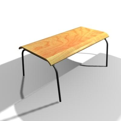 3d ikea coffee table