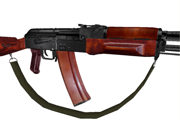 ak74 rifles 3ds