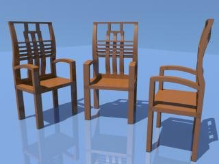 chairs 3d ma