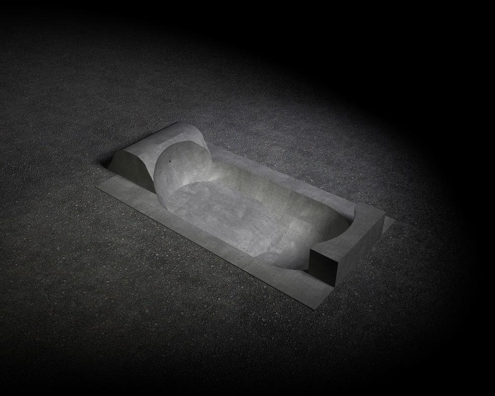 skatepool pool skate 3d model