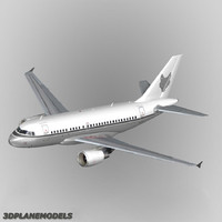 airbus a318 private a-318 3ds