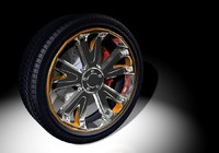 3d felloe tire