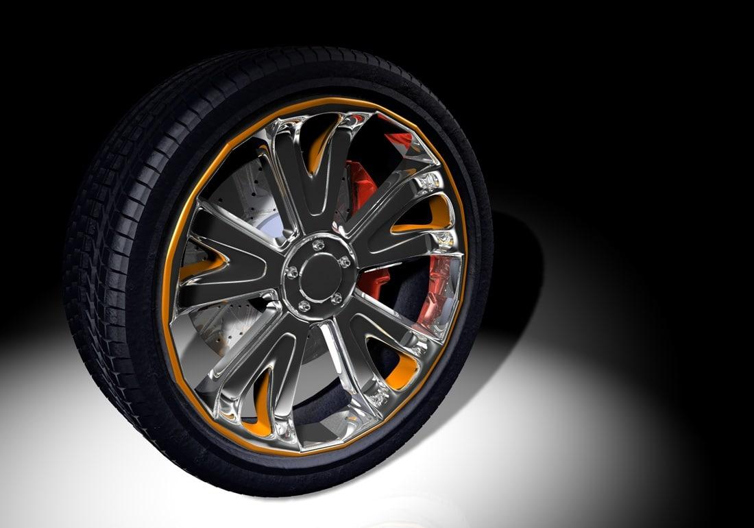 3d felloe tire