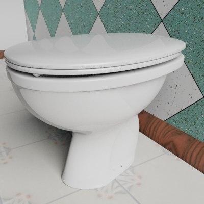 baby wc 3d max