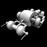 3d model disc battleship battle