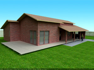 3d small house